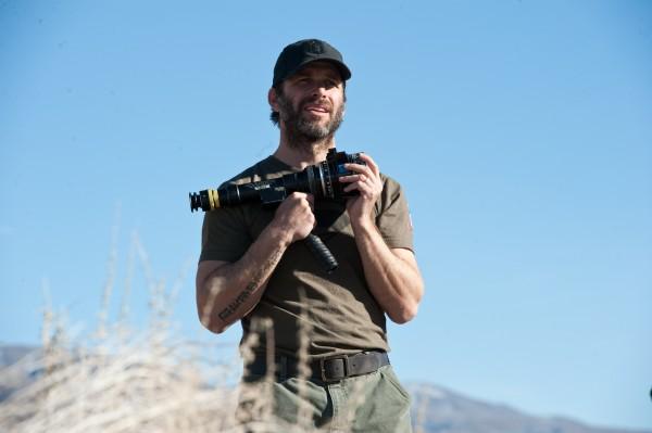 Man-of-Steel-zack-snyder set photo camera
