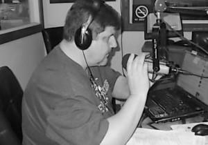 Robert Herriman broadcasting Dispatch Radio