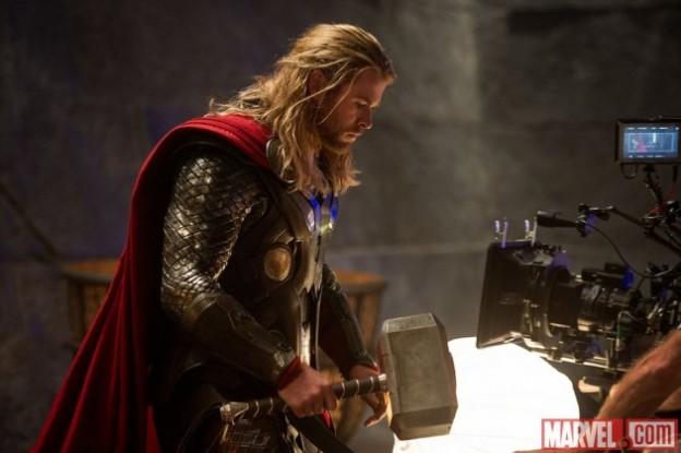 Thor dark world hemsworth behind the scenes