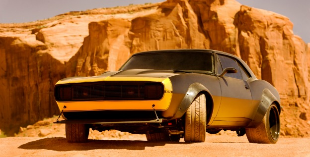 Transformers 4 bumblebee yellow and black