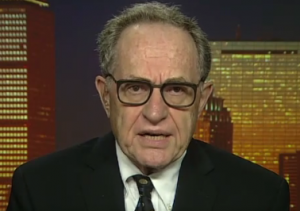 Alan Dershowitz Image/Video Screen Shot