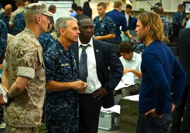 military Brad Pitt WWZ photo