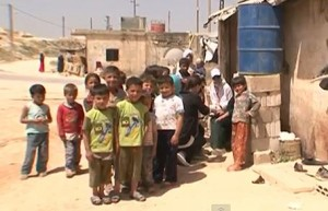 Syrian refugee children Image/Video Screen Shot