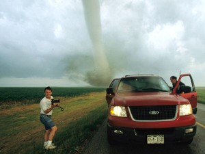 Tim Samaras on 'Storm Chasers'