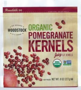 Woodstock Frozen Organic Pomegranate Kernels  Image/FDA
