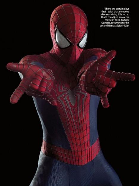 Amazing Spiderman photo web action