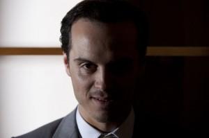 Andrew Scott as Moriarty BBC Sherlock photo