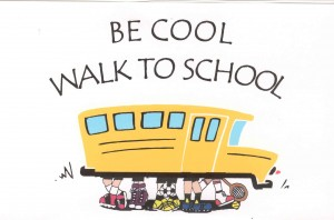 Be Cool Walk to School Walking School Bus