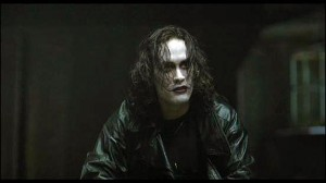Brandon Lee as The Crow movie photo