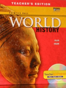 Florida World History textbook