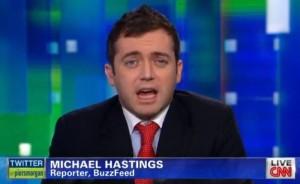 screenshot photo Michael Hastings CNN appearance