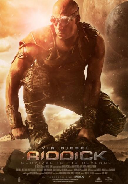 Riddick poster revenge