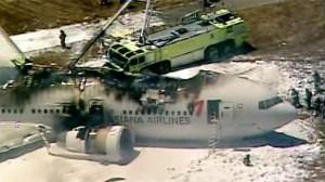 SF plane crash California
