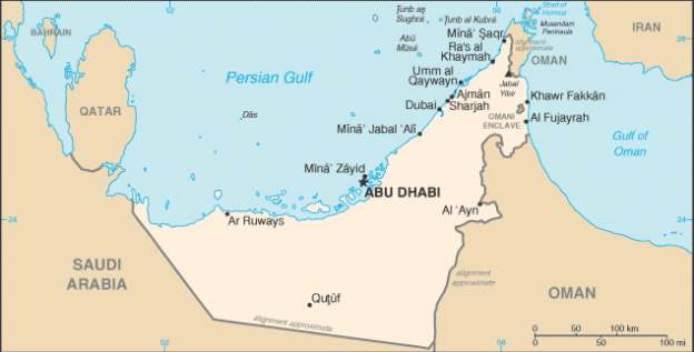 United Arab Emirates (UAE) Image/CIA