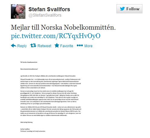 Stefan Svallfors letter Computer Screen Shot
