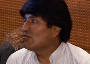 Bolivian President Evo Morales Image/Video Screen Shot
