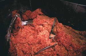 Ground beef/USDA