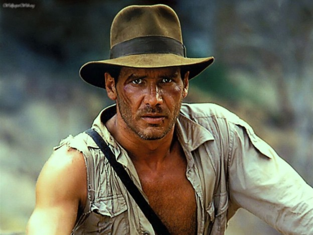Harrison Ford as Indiana Jones photo