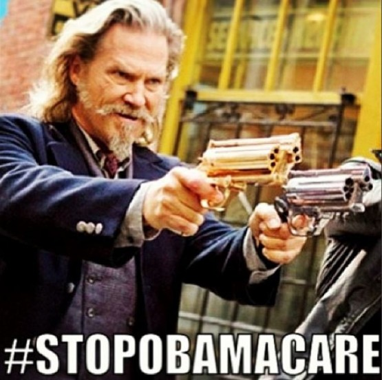 Heritage Foundation sends out stop Obamacare meme using ...