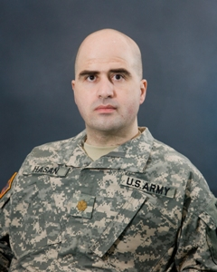 Major Nidal Hasan, Fort hood shooter  photo US Army