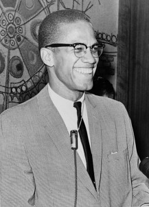 Library of Congress photo of Malcolm X, Ed Ford, World Telegram staff photographer  March 1964