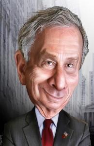 Michael Bloomberg cartoon donkeyhotey