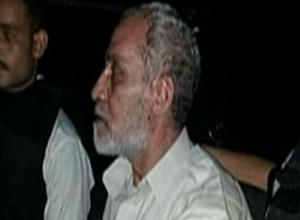 Mohamed Badie, the supreme leader of Muslim Brotherhood, was arrested. photo screenshot of ONTV coverage