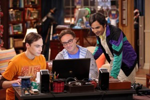 Sheldon Leonard and Raj Big Bang Theory photo