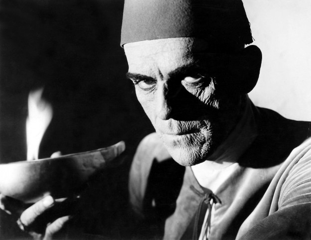 "Boris Karloff in 1932 version of ""The Mummy"""