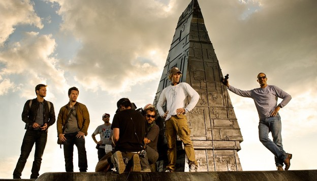 Transformers 4 photo Michael Bay Mark Wahlberg