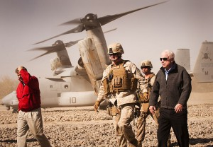 John McCain and Lindsey Graham Image/Sgt. Mark Fayloga--US Marine Corps
