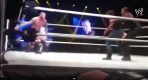 WWE Randy orton-fan-attack