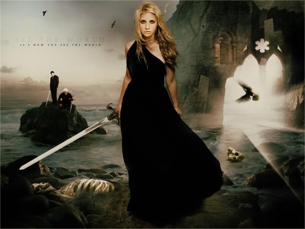 buffy-spike-angel-buffy-the-vampire-slayer-sarah michelle gellar banner