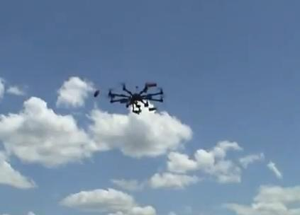Amazon shocked the business world when they announced plan to deliver via Octocopter photography Image/Video Screen Shot