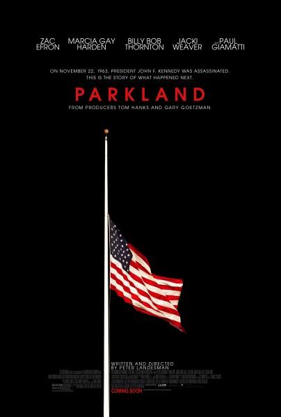 parkland-poster-flag half mast JFK assassination