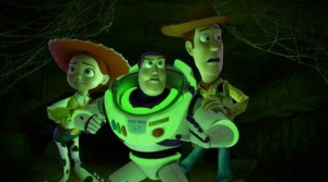 toy-story-of terror buzz lightyear glow dark Woody Jessie