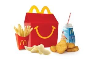 Chicken McNugget Happy Meal Image/ McDonalds