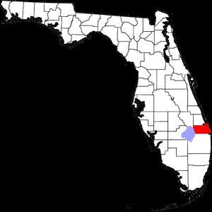 Martin County Florida map Image/David Benbennick