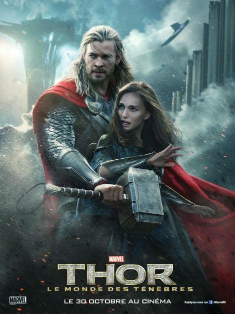 Chris Hemsworth Nataloe Portman new-posters-for-thor-the-dark-world