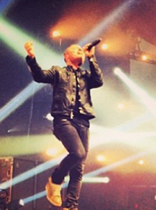 Chris Tomlin performing live earlier this year photo: ChrisTomlin.com
