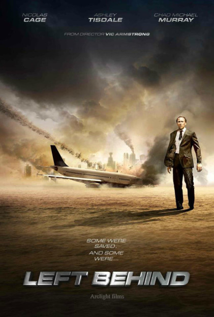 Nic Cage Left Behind poster