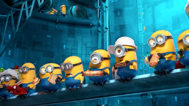 despicable_me_2 Minions on Lunch break photo