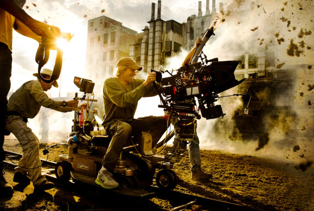 michael-bay-reveals-new-on-set-image-from-transformers-age-of-extinction-Michael Bay explosions
