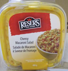 Reser's Fine Foods brand Cheesy Macaroni Salad Image/CFIA