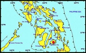 Bohol earthquake map Image/Phivolcs