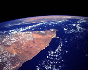 Horn of Africa  Image/NASA