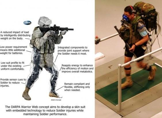 The Defense Advanced Research Projects Agency is working on the Warrior Web Project, which has many of the attributes of the Army's Tactical Assault Light Operator Suit concept. (U.S. Army) (October 10, 2013)