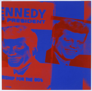 PHOTO CREDIT: Andy Warhol; Flash—November 22, 1963 (detail), 1968; Collection of Herbert Brito. © 2013 The Andy Warhol Foundation for the Visual Arts, Inc. / Artists Rights Society (ARS), New York.