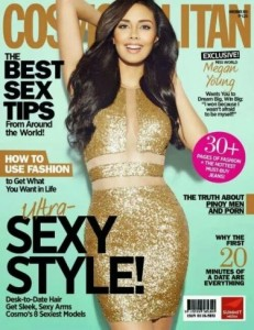 Megan Young- Cosmopolitan Philippines 2013 cover girl