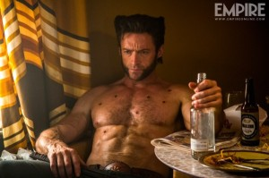 Hugh jackman as Wolverine Days future past